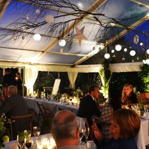 Clear Roof Party Marquee Hire