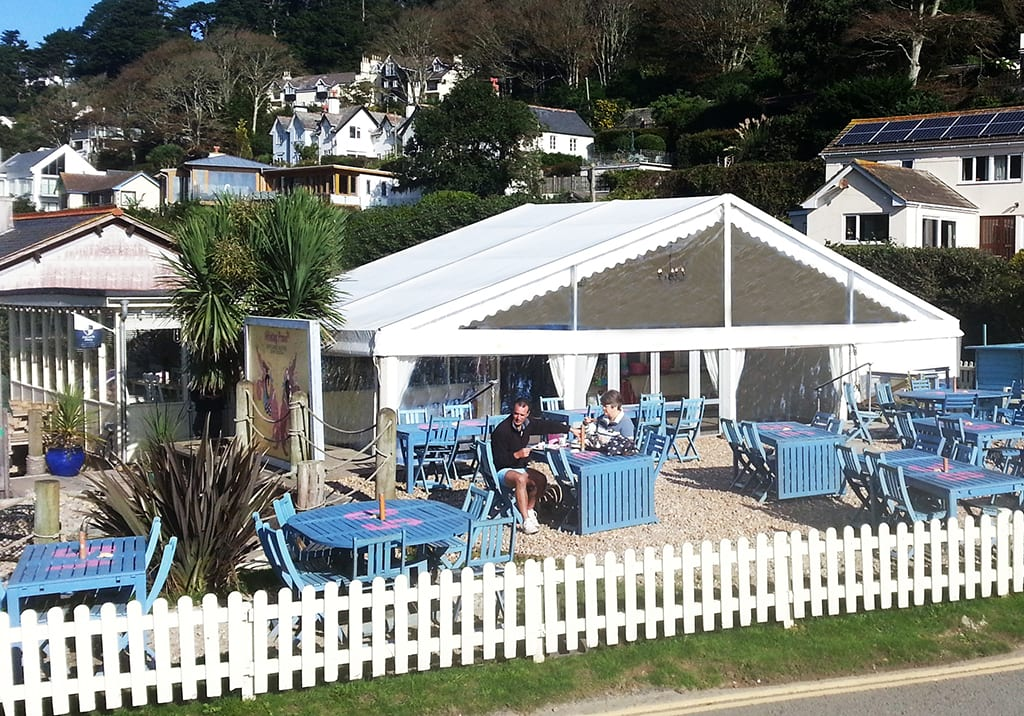 restaurant cafe marquee hire