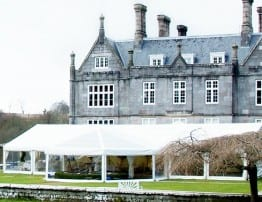 Devon Marquee Hire at Kitley House Hotel