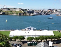 Fastnet Race 2013 - Corporate Marquee Hire