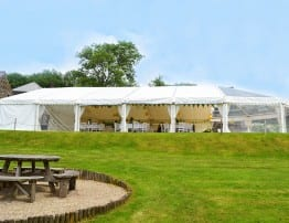 Wedding Marquee Hire Cornwall