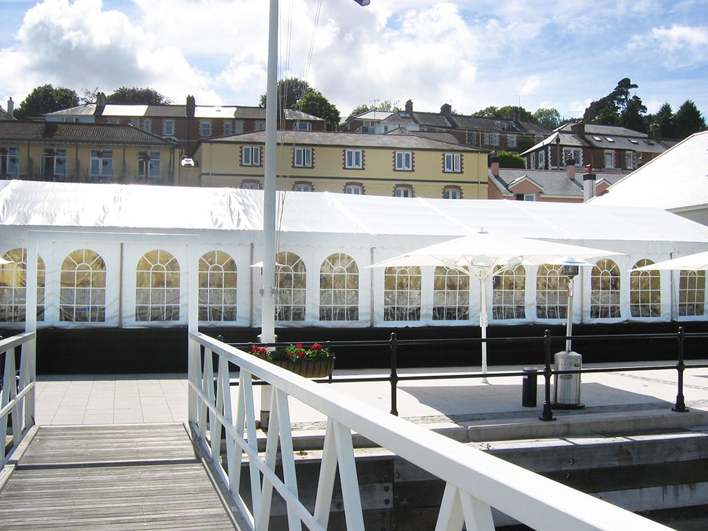 corporate marquee hire devon cornwall