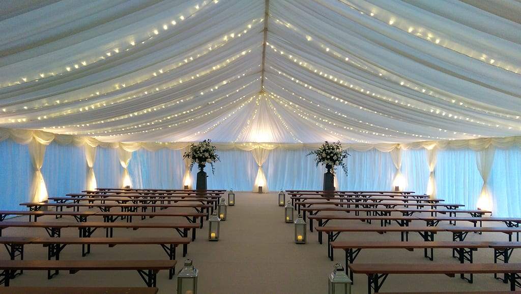 Devon Marquee Wedding