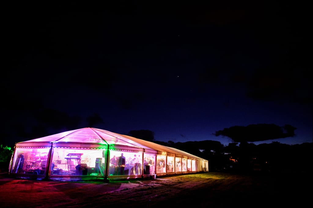 party marquee hire cornwall