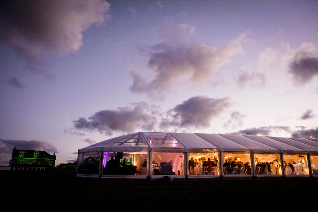 party marquee hire devon