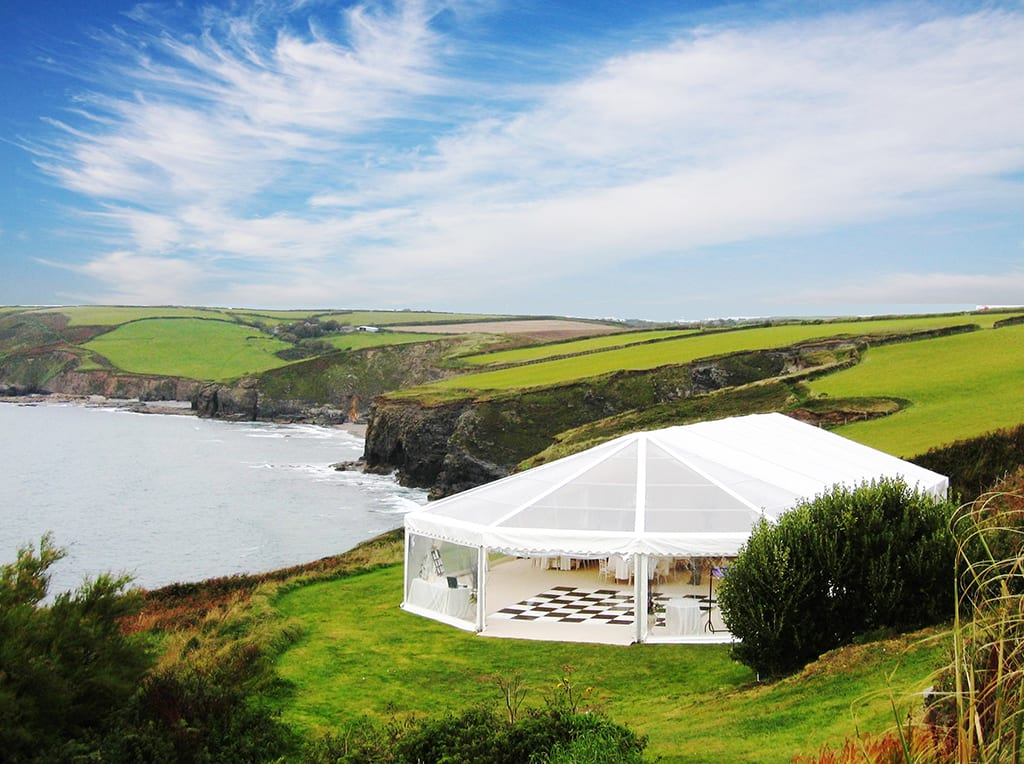 Beach Wedding Marquee