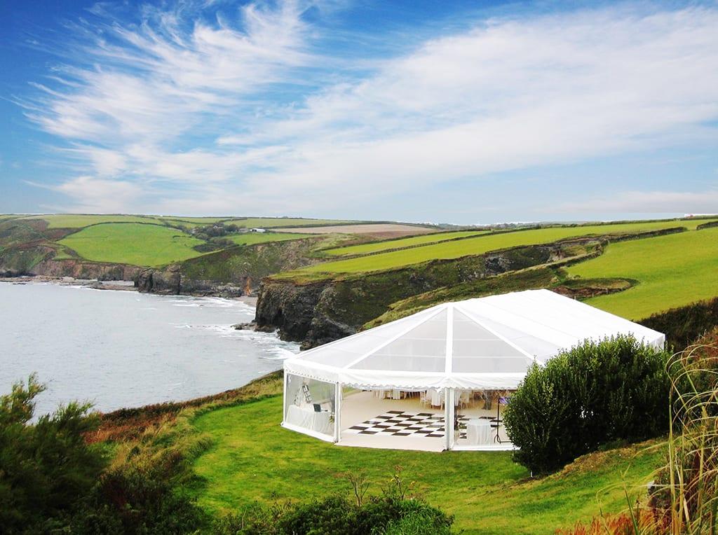 sea view wedding venue devon