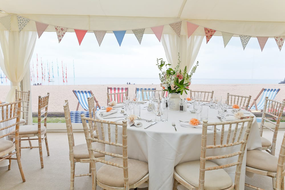 beach wedding venue devon