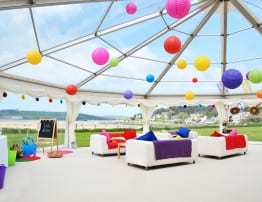 Cornwall Marquee Hire Porthilly Wedding Venue