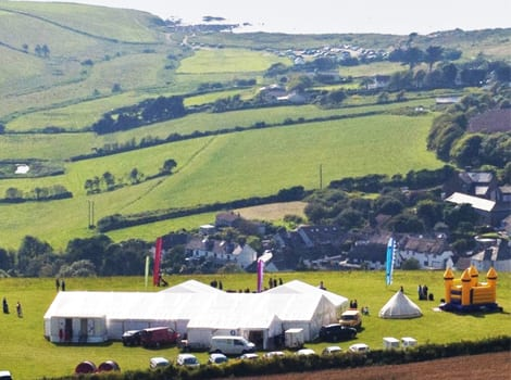 festival weddings devon