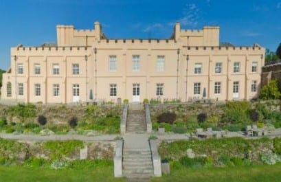 Pentillie Castle wedding venue cornwall