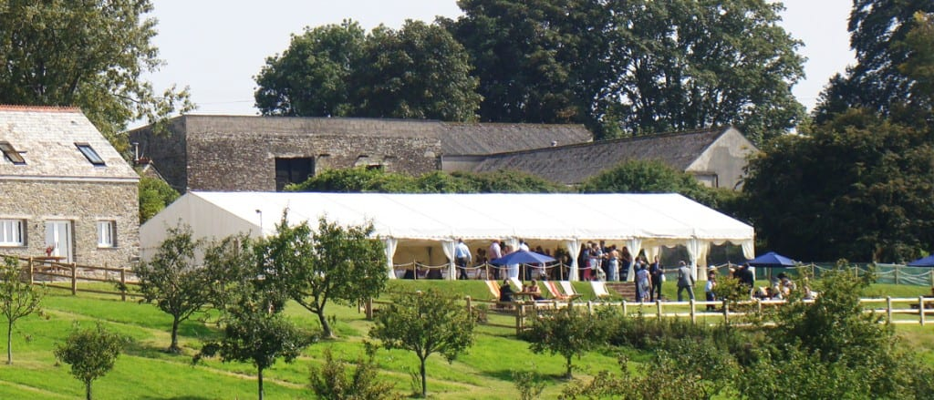 Lantallack Cornwall Marquee Wedding Venue