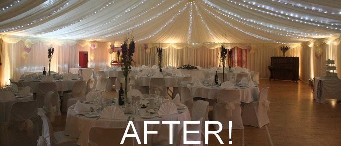 Malborough Village Hall Wedding Venue Hatch Marquee Hire