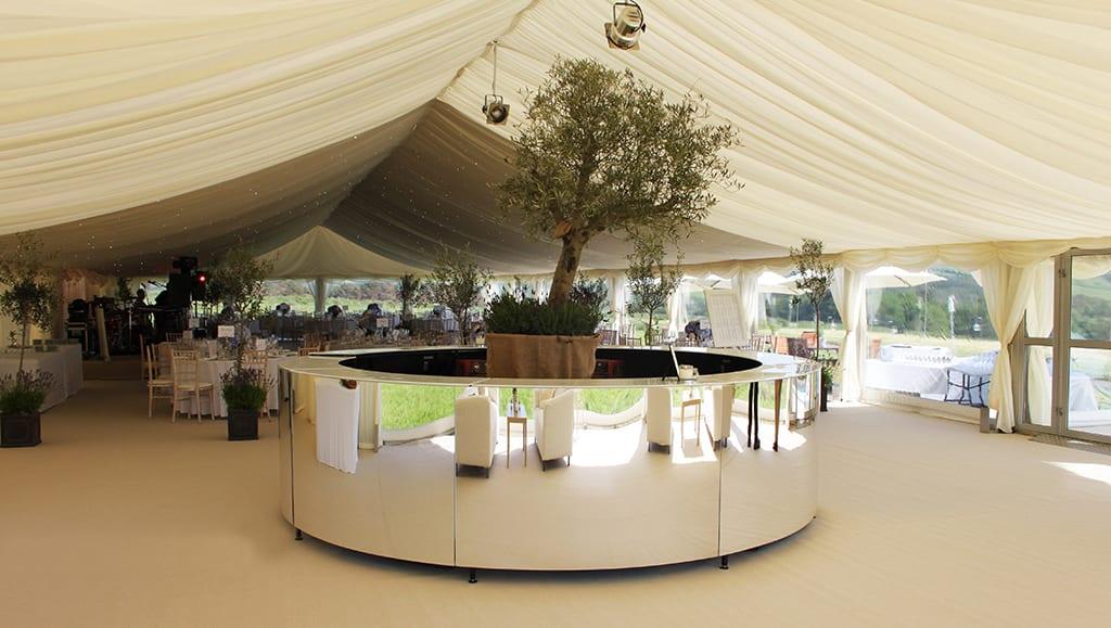 interior wedding decoration hire