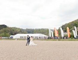 Beach Wedding Venue Devon - Hatch Marquee Hire