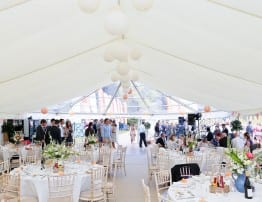 Beautiful Wedding Marquee by Hatch Marque Hire
