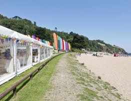 Marquee Hire at Blackpool Sands Wedding Venue