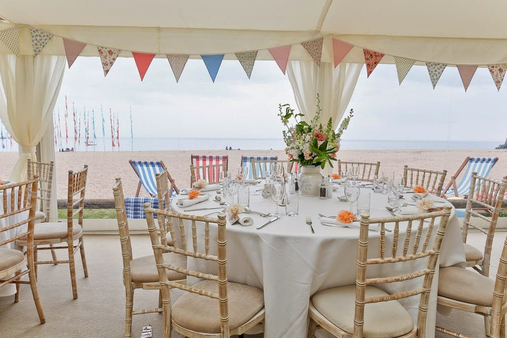 Bunting Ideas And Tips For Your Wedding Marquee