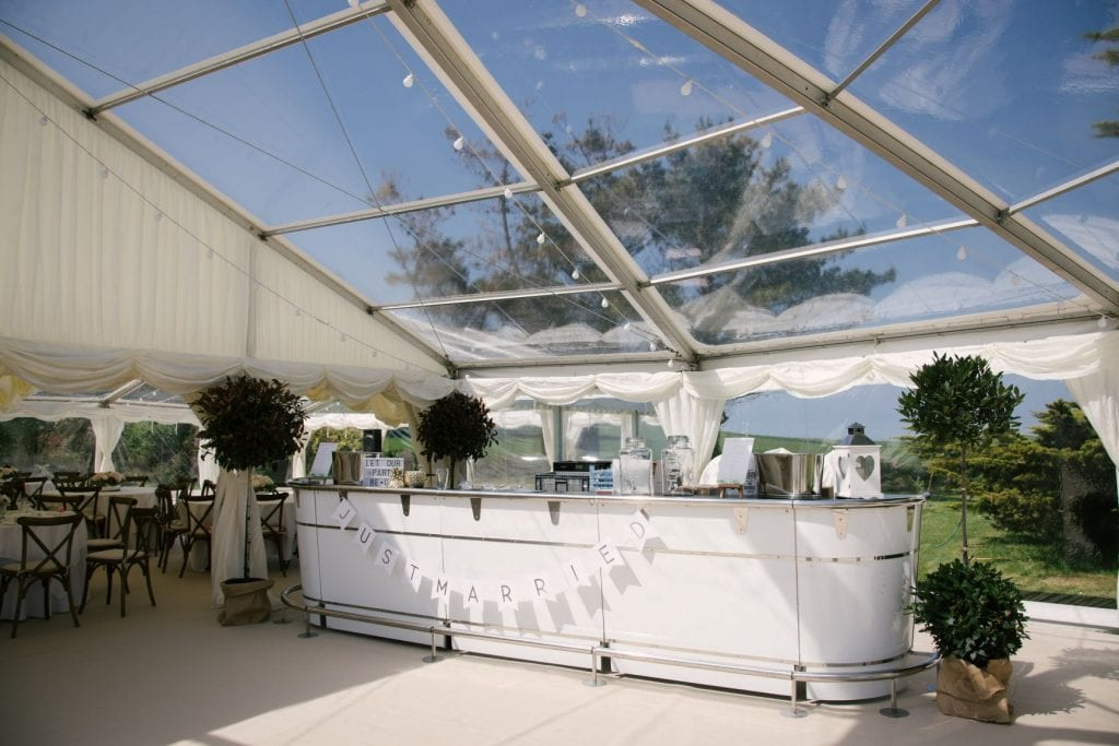 Clear Marquee Glass Marquee