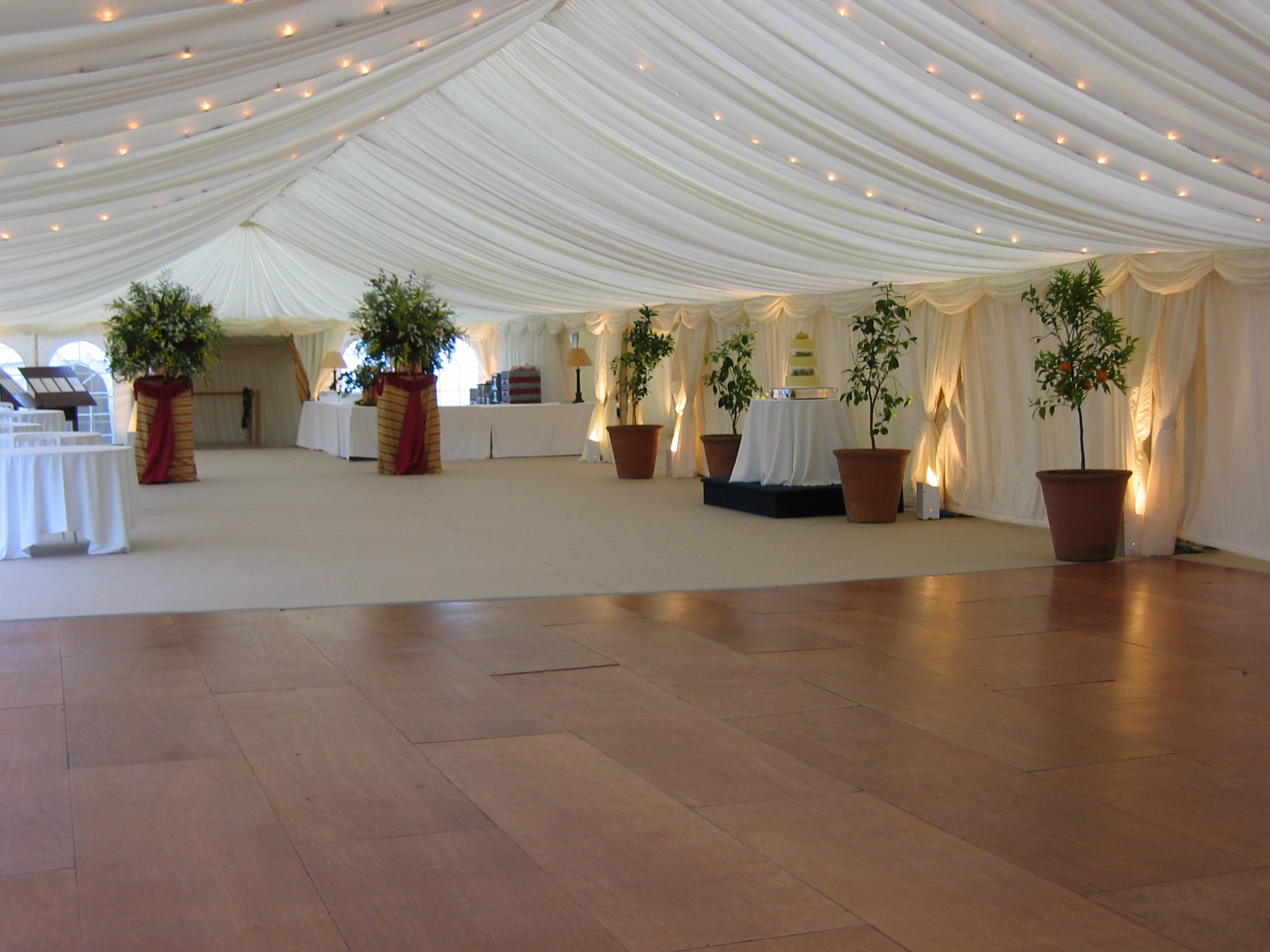 Beautiful Wedding Marquee - Hatch Marquee Hire