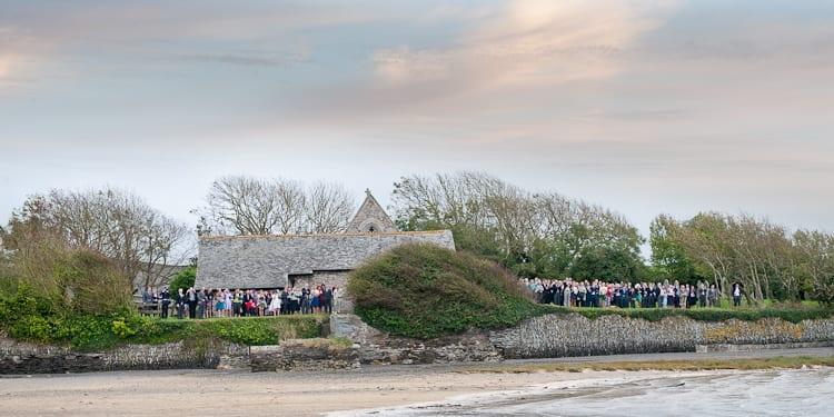 St Michaels Church Porthilly Wedding