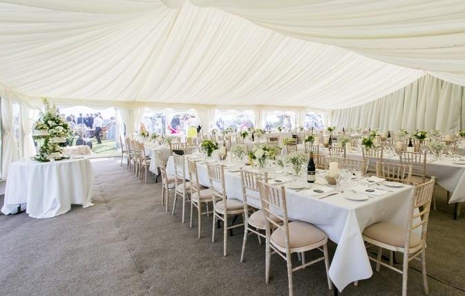 Cornwall Marquee Wedding Venue