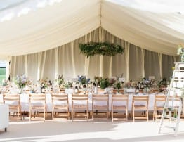 Beautiful Wedding Marquee Hire