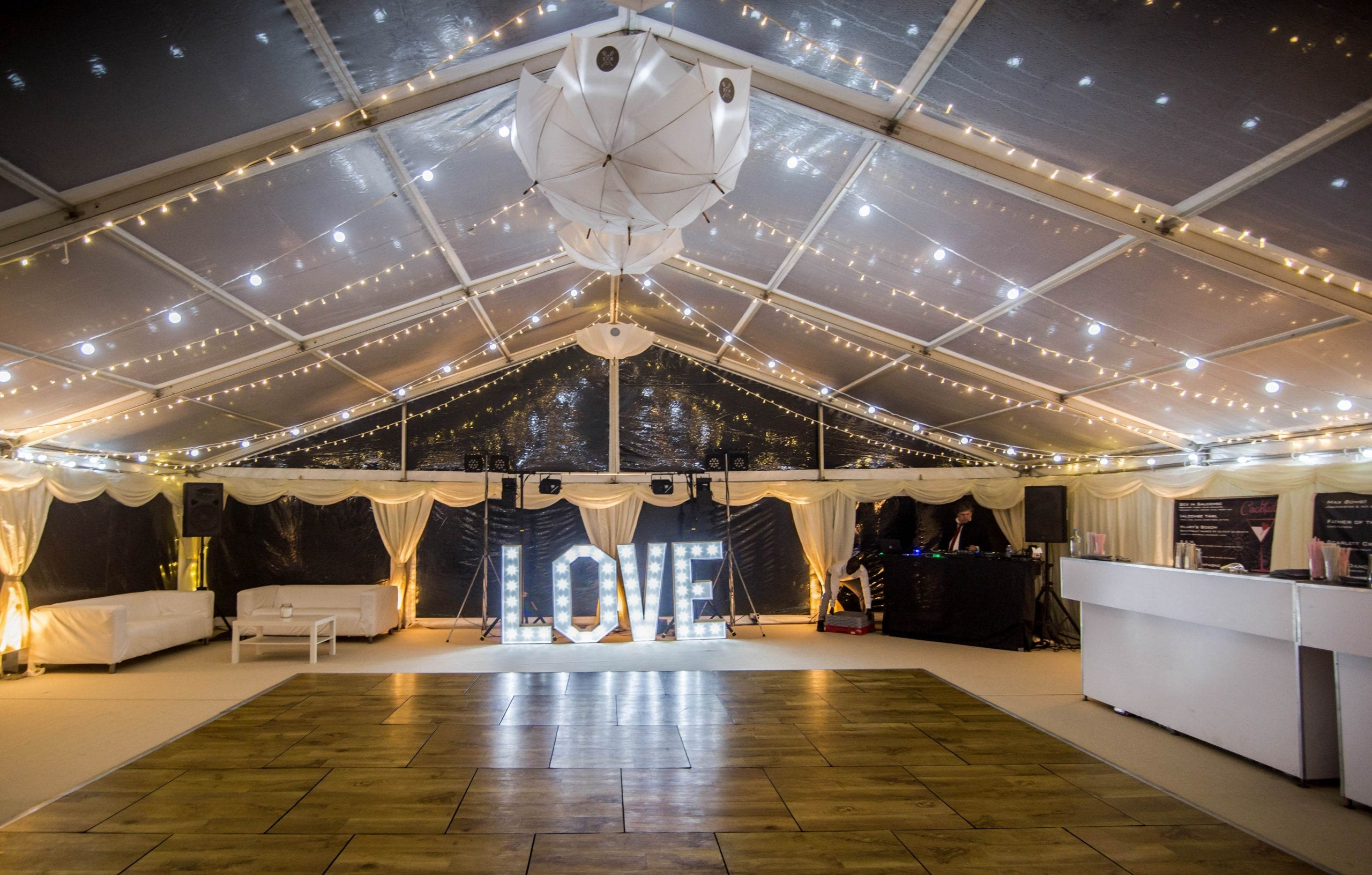 Hatch marquee hire a look back at the summer of 2015 for Indoor marquee decoration