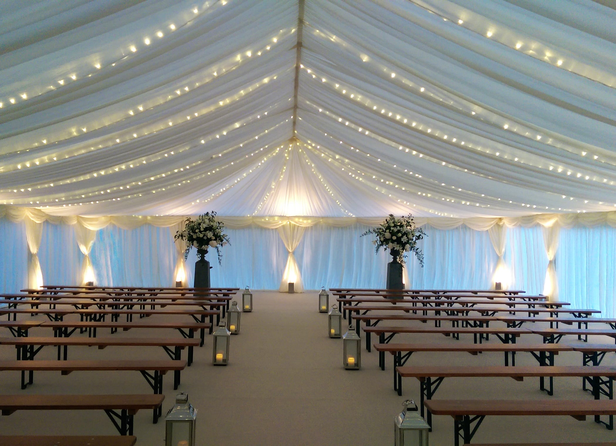 Beautiful Wedding Marquee Hire Devon