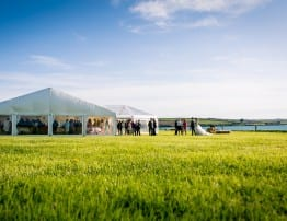 Cornwall Wedding Marquee Hire - Porthilly Farm