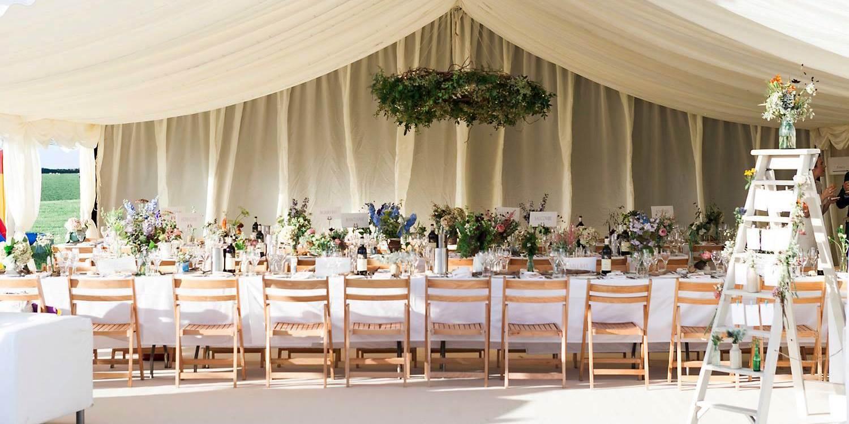 Worswell barton coastal devon wedding venue hatch marquee hire junglespirit Gallery