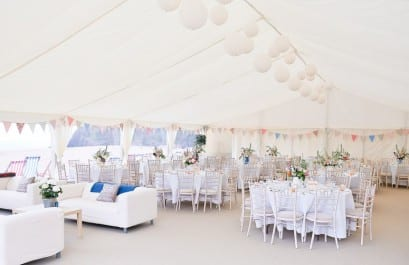Beach Wedding Marquee Hire
