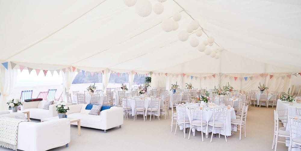 Wedding marquees how to use the space hatch marquee hire for Hiring an interior designer on a budget