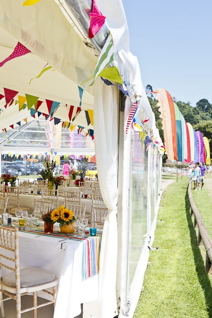 beach marquee wedding at blackpool sands