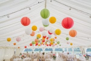Devon Wedding Marquee