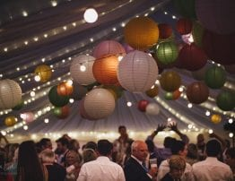 Marquee Lighting - Hatch Marquee Hire