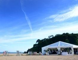 Blackpool Sands Beach Wedding Venue