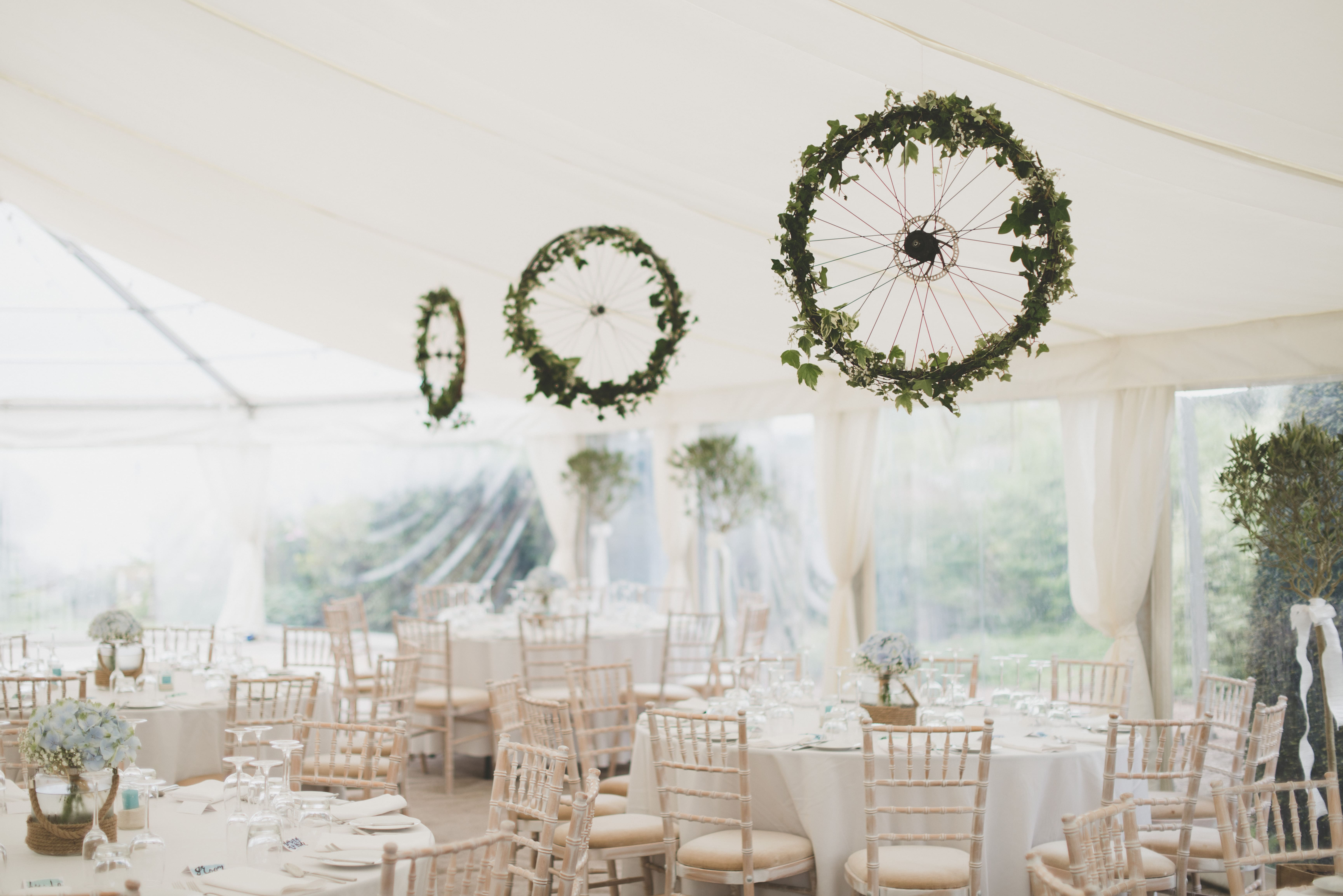 Wedding Decor for Marquee