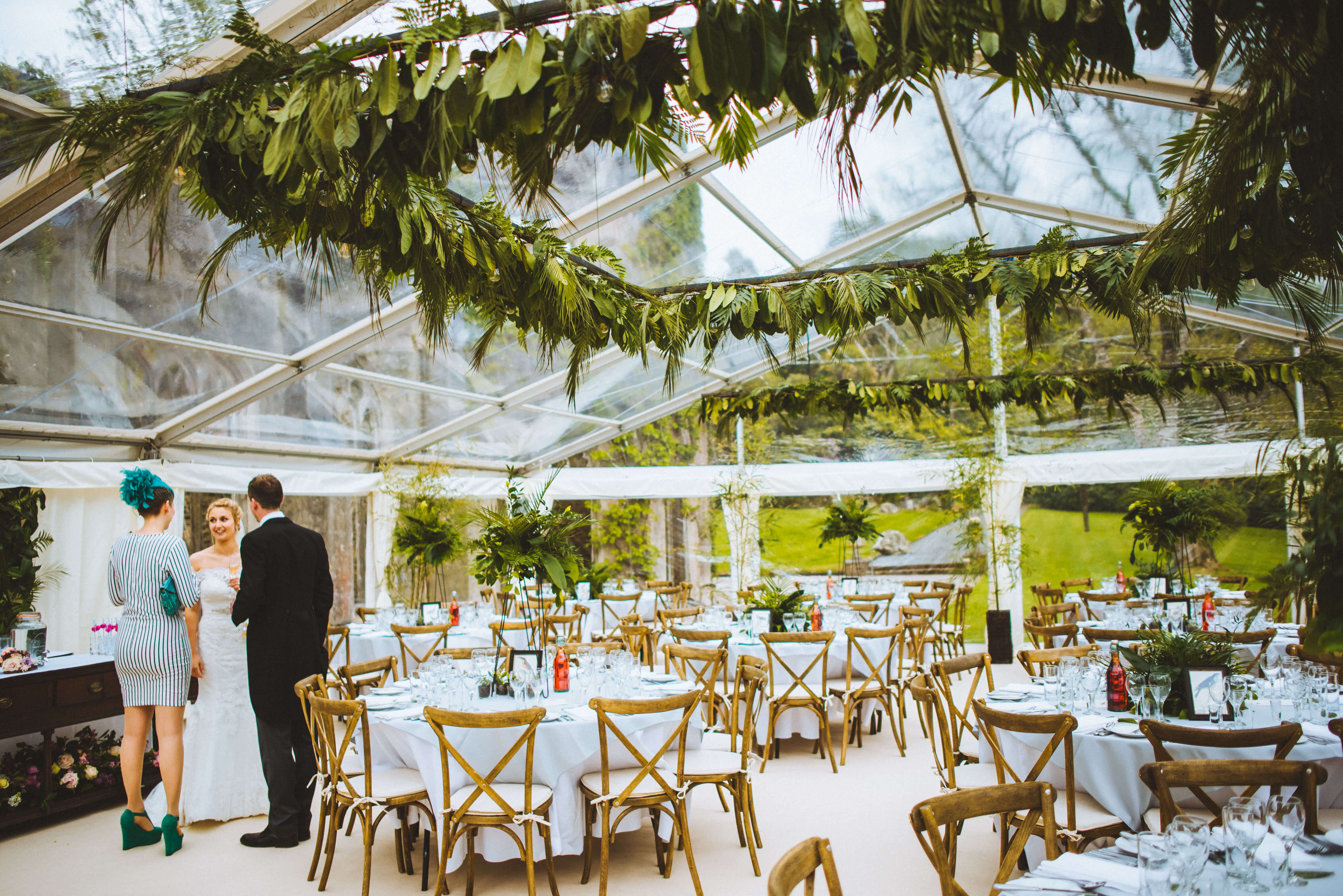Cross Back Chairs - Hatch Marquee Hire