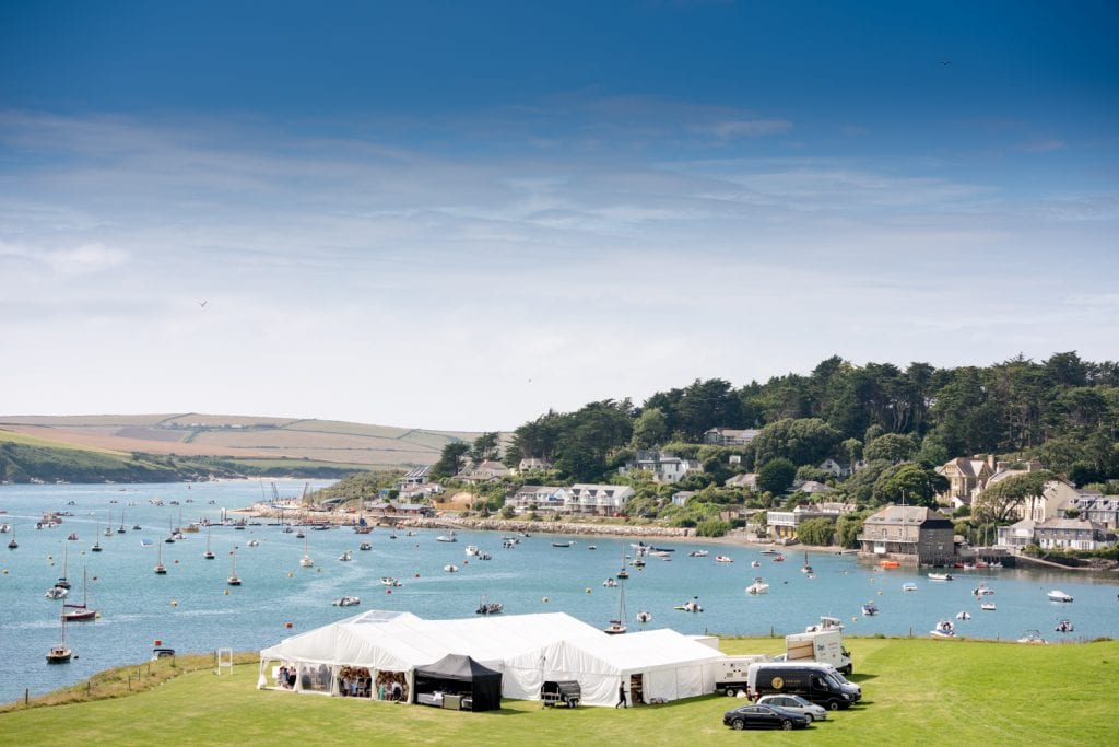 Porthilly Wedding Venue - Hatch Marquee Hire