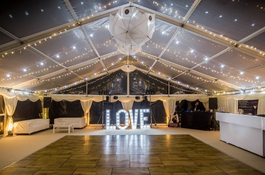 Salcombe Wedding Marquee