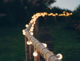 Marquee Wedding Lighting