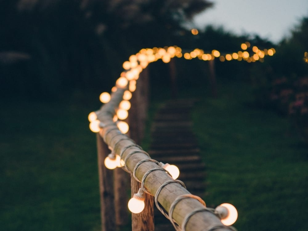 Marquee Wedding Lighting