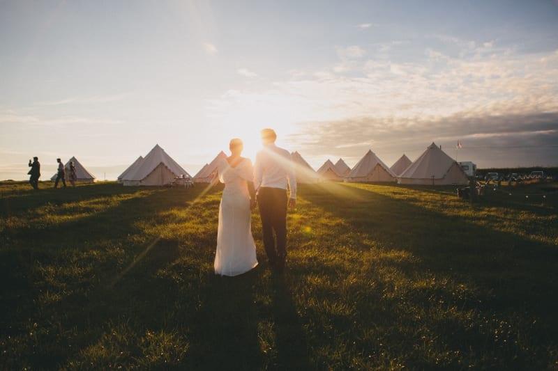 Festival Wedding Carswell Farm
