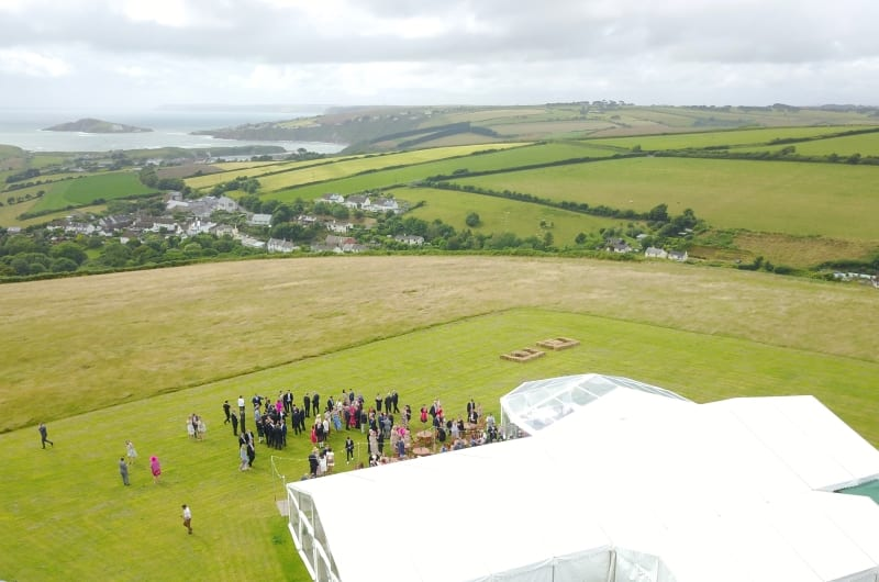 Wedding Marquee Venues - Bantham Bash