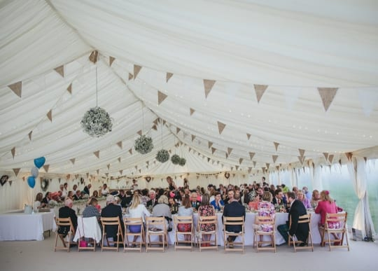 Wedding Marquee Bunting