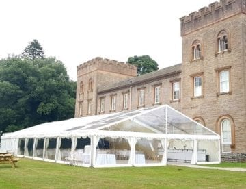 Clear Roof Marquee Ugborough House