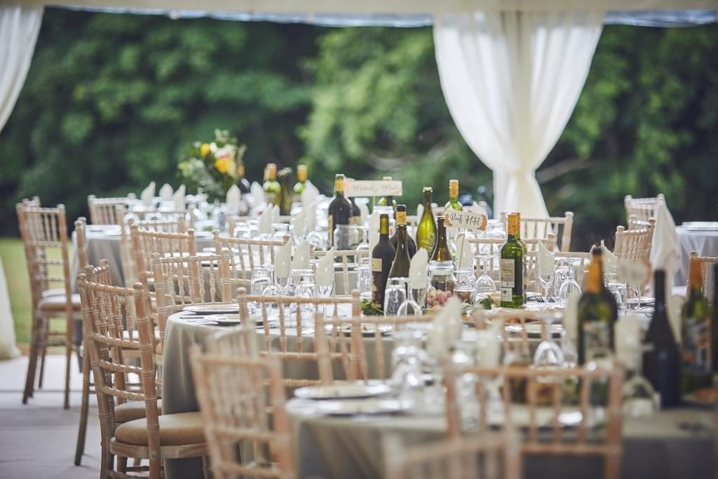 Wedding Catering - Hatch Marquee Hire