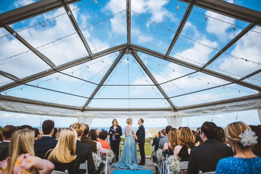Clear Roof Marquee - Cornwall Marquee Venue