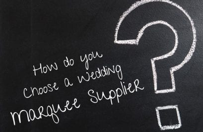 Choosing a Marquee Supplier